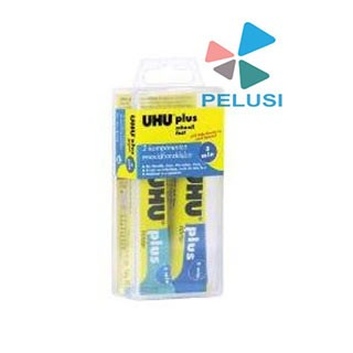 uhu-plus-epoxy-5-minuti-2x15ml-d9244-uhu-bison-uhu9243--collanti-attrezzatura-